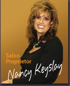 Nancy Keyslay, Salon Proprietor of Fancy Nancys' Elite Hair Designers